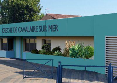 Crèche Cavalaire-sur-Mer